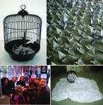1000 Paper Cranes (December 2009, Barcelona, World AIDS Day)