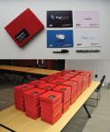 TEDxNewHaven sense kits (2012, Yale University) featuring my various sense projects