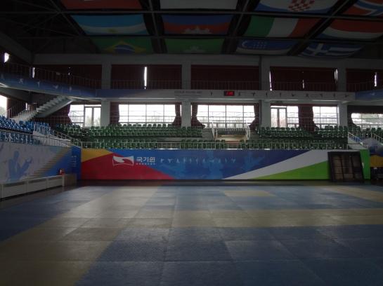 I know it just looks like a gym, but to me it's also a mecca.