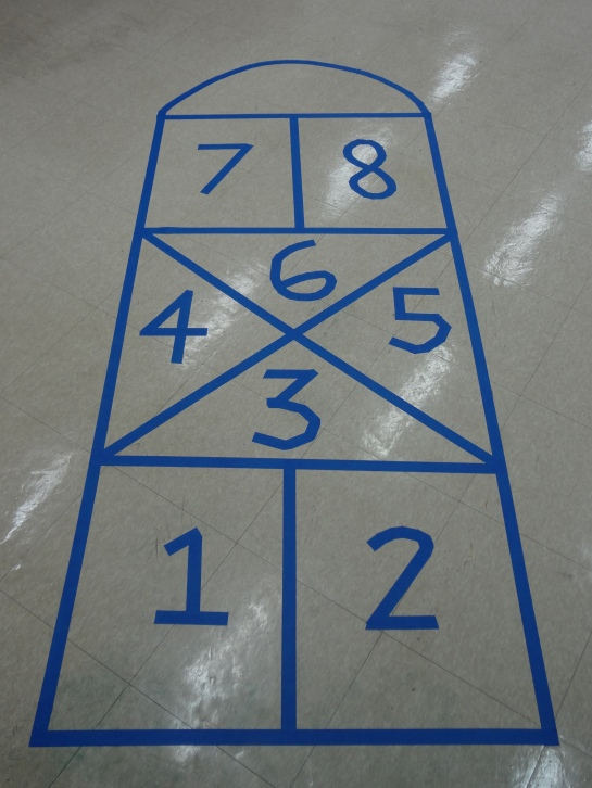 This is a Korean hopscotch board.