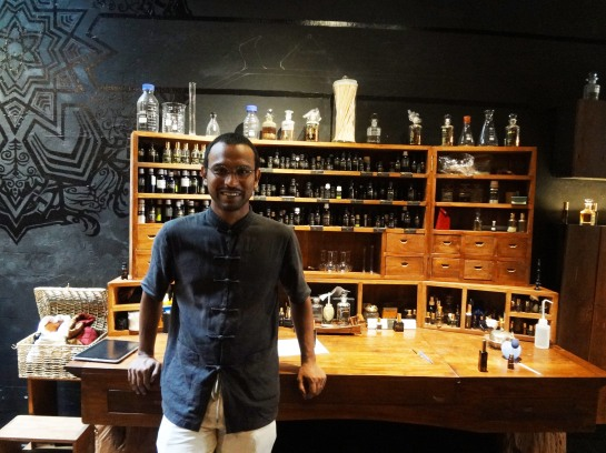 Oh true apothecary! Johari Kazura of Sifr Aromatics