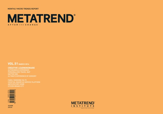 Metatrend Volume 51, March 2014