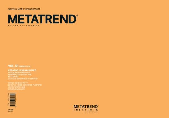 Metatrend Volume 51, March 2014