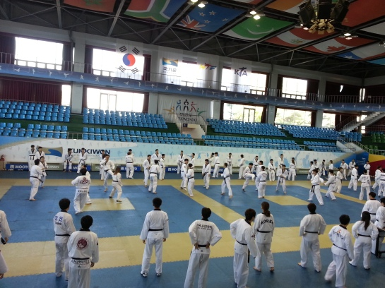 A class in Kukkiwon