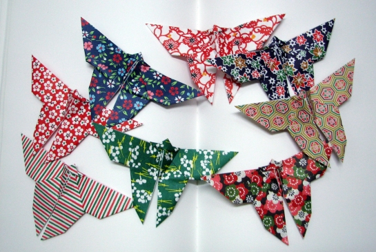 And more traditional butterflies for a safer choice.