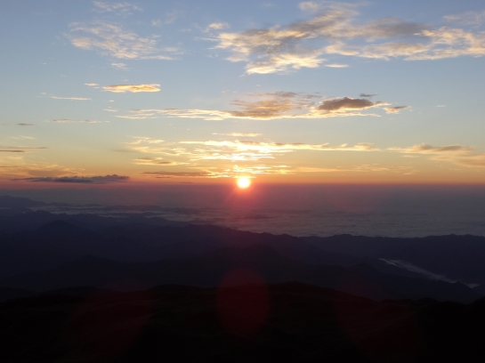 The legendary Mt. Pulag sunrise