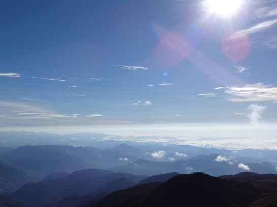 The sea of clouds