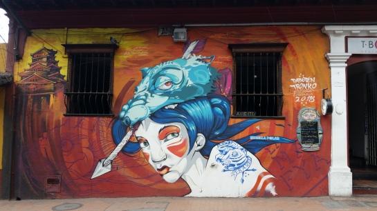 Colombian graffiti
